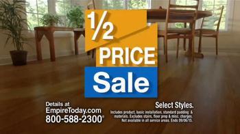 Empire Today Half Price Sale TV Spot, 'Best Sale'