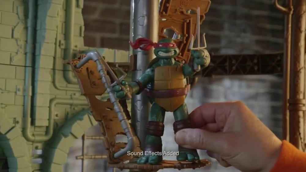 Teenage mutant ninja turtles secret sewer lair tv commercial ispot
