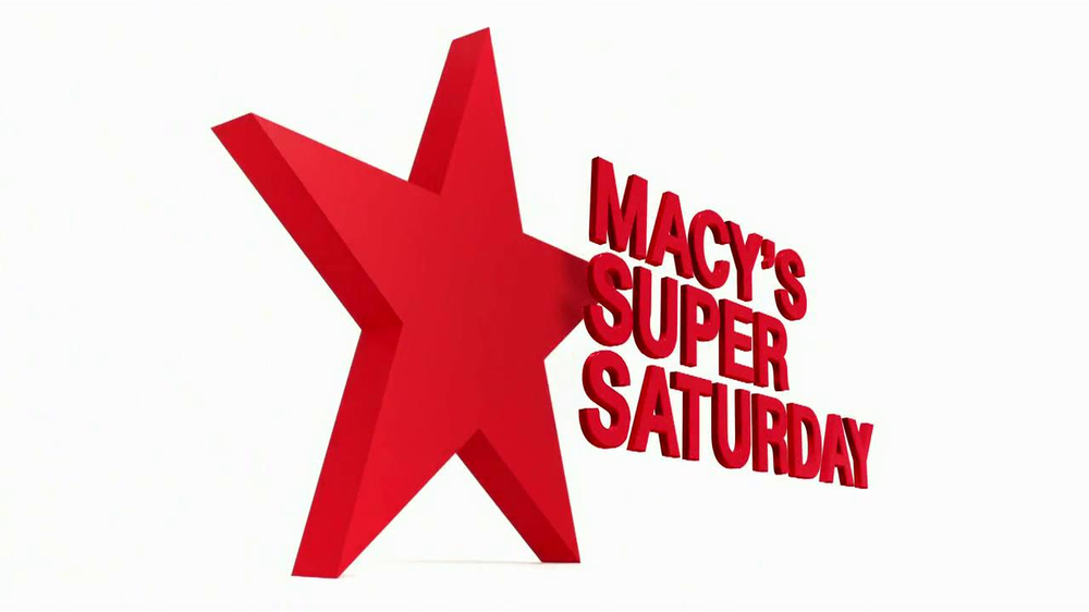 Macy's Super Saturday Sale TV Spot thumbnail