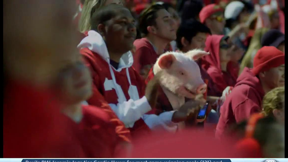 Geico App TV Spot, 'Pig in a Blanket' - Screenshot 2