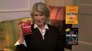 Pine Brothers Softish Throat Drops TV Spot Featuring Martha Stewart
