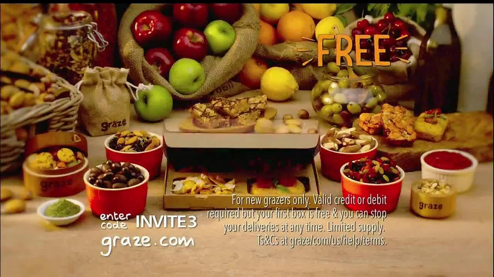 Watch video · Graze boxes are filled with natural goodness in more than 90 different combinations.