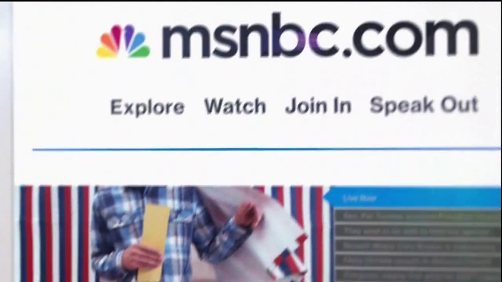 MSNBC.com TV Spot, 'Speak Out' - Screenshot 10