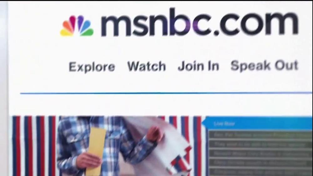 MSNBC.com TV Spot, 'Speak Out' - Screenshot 10