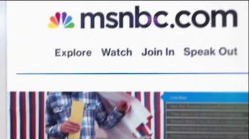 MSNBC.com TV Spot, 'Speak Out' - Thumbnail 10