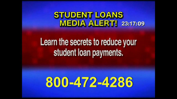 Student Loan Hotline TV Spot, 'Media Alert' thumbnail