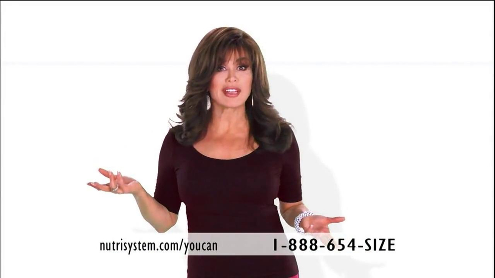 Marie Osmond Nutrisystem TV Commercial