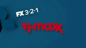 TJ Maxx TV Spot, 'FX 3-2-1' thumbnail