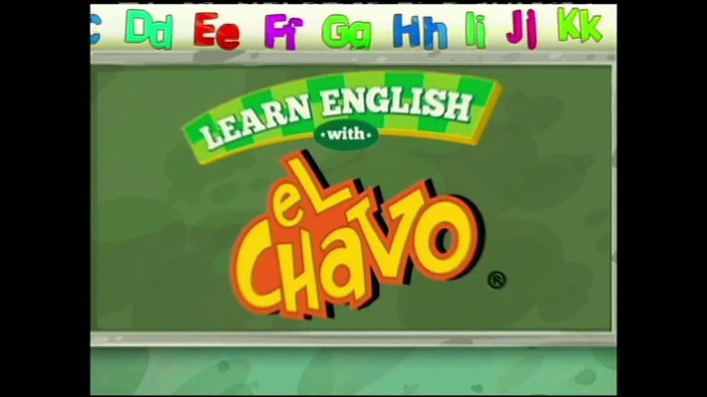 Learn English with El Chavo TV Spot [Spanish] - Screenshot 2