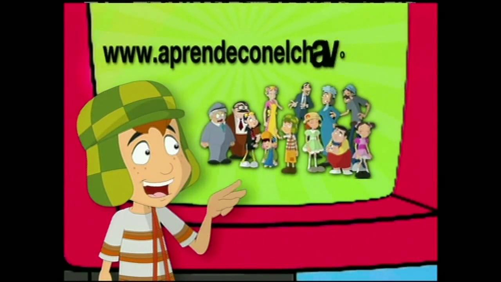 Learn English with El Chavo TV Spot [Spanish] - Screenshot 8