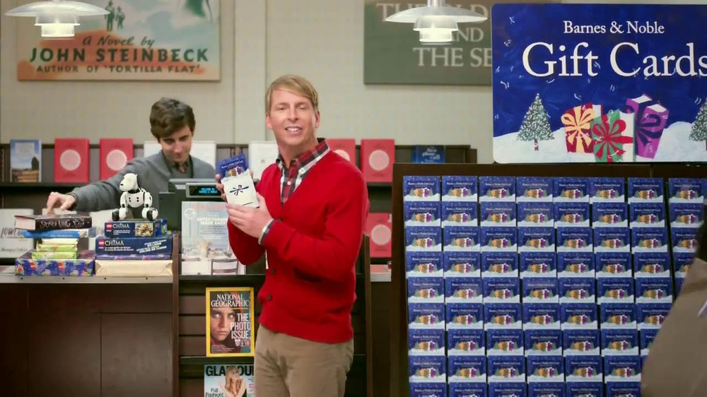 Barnes & Noble TV Spot, 'Holiday Gift Ideas' Featuring Jack McBrayer - Screenshot 9