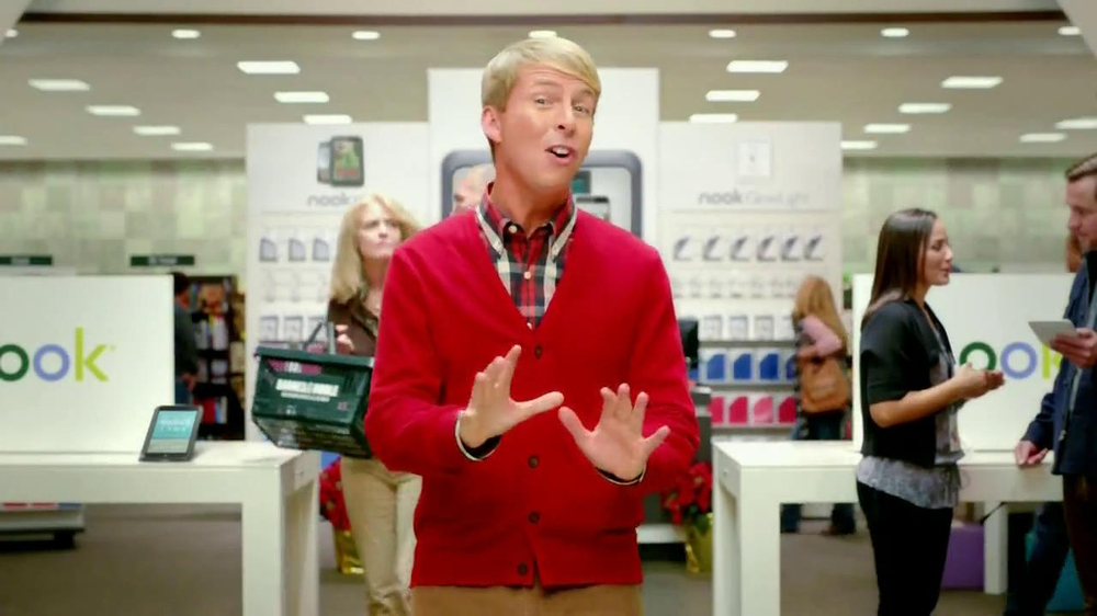 Barnes & Noble TV Spot, 'Holiday Gift Ideas' Featuring Jack McBrayer - Screenshot 2