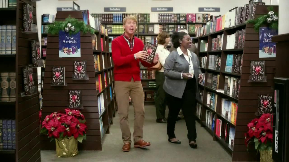 Barnes & Noble TV Spot, 'Holiday Gift Ideas' Featuring Jack McBrayer - Screenshot 3