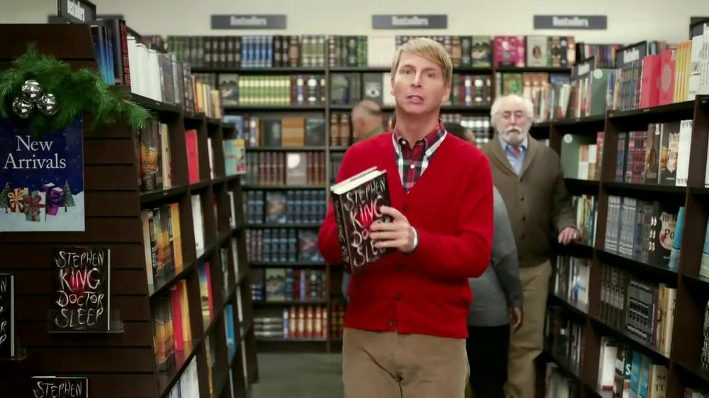 Barnes & Noble TV Spot, 'Holiday Gift Ideas' Featuring Jack McBrayer - Screenshot 4
