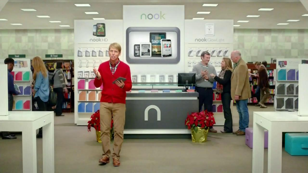 Barnes & Noble TV Spot, 'Holiday Gift Ideas' Featuring Jack McBrayer - Screenshot 5