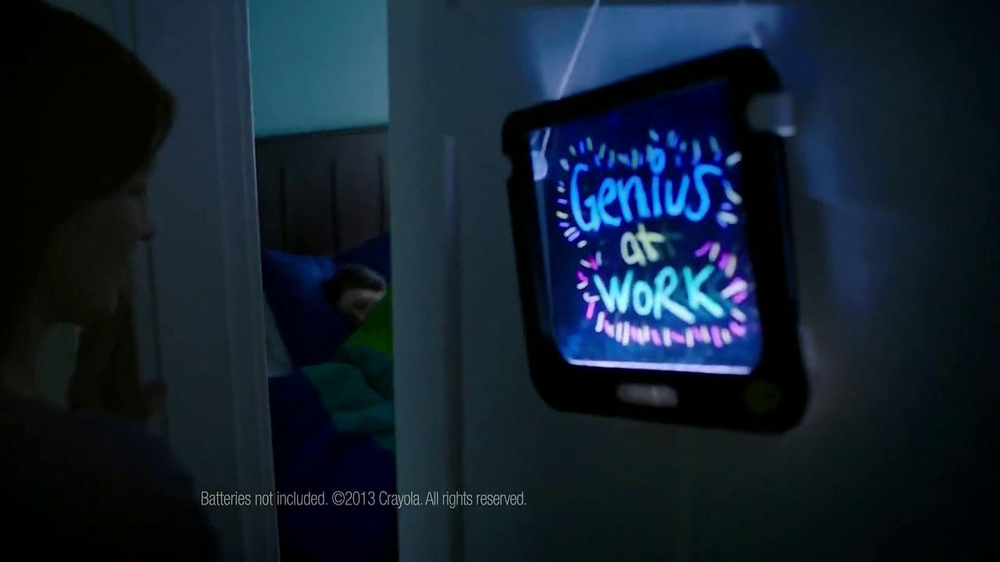 Crayola Dry-Erase Light-Up Board TV Spot - Screenshot 10