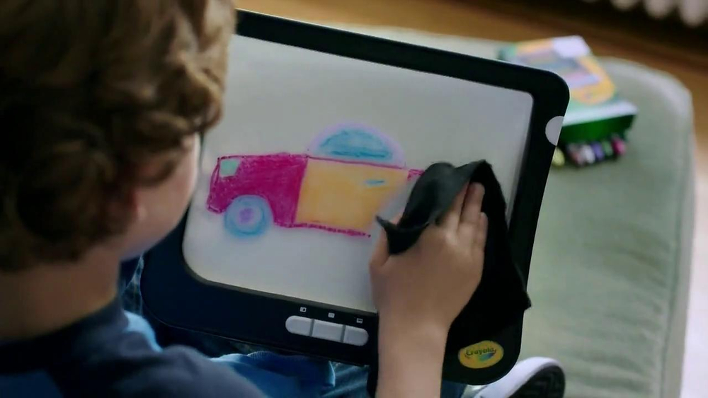 Crayola Dry-Erase Light-Up Board TV Spot - Screenshot 2
