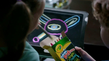 Crayola Dry-Erase Light-Up Board TV Spot - Thumbnail 5