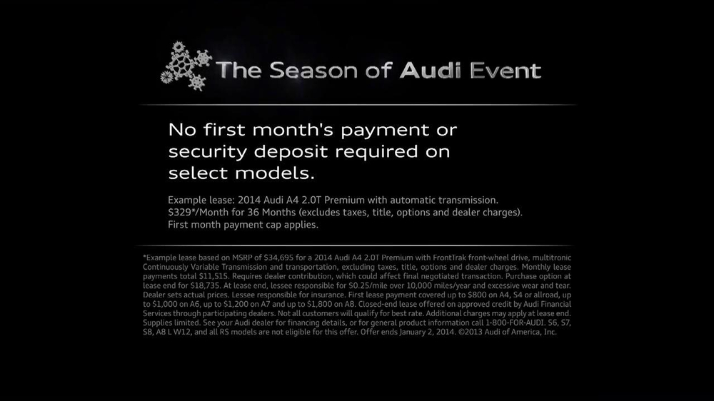 The Season of Audi Event TV Spot, 'Donation' - Screenshot 10