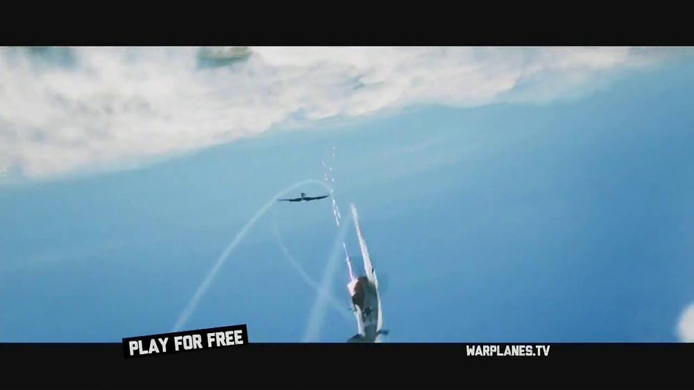 World of Warplanes TV Spot, 'Get Vertical' - Screenshot 2