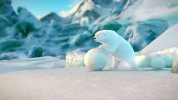 Coca-Cola 2014 Holiday TV Spot, 'Snow Polar Bear' - Thumbnail 1