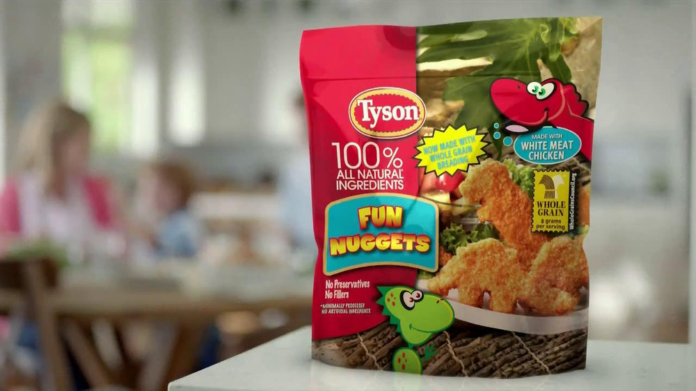 Tyson Fun Nuggets TV Commercial, 'Picky Eaters' - iSpot.tv