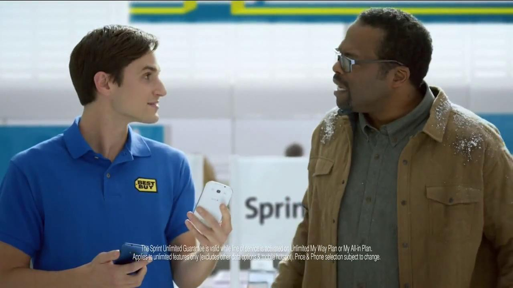 Best Buy Sprint TV Spot, 'Twas' Featuring LL Cool J - Screenshot 5