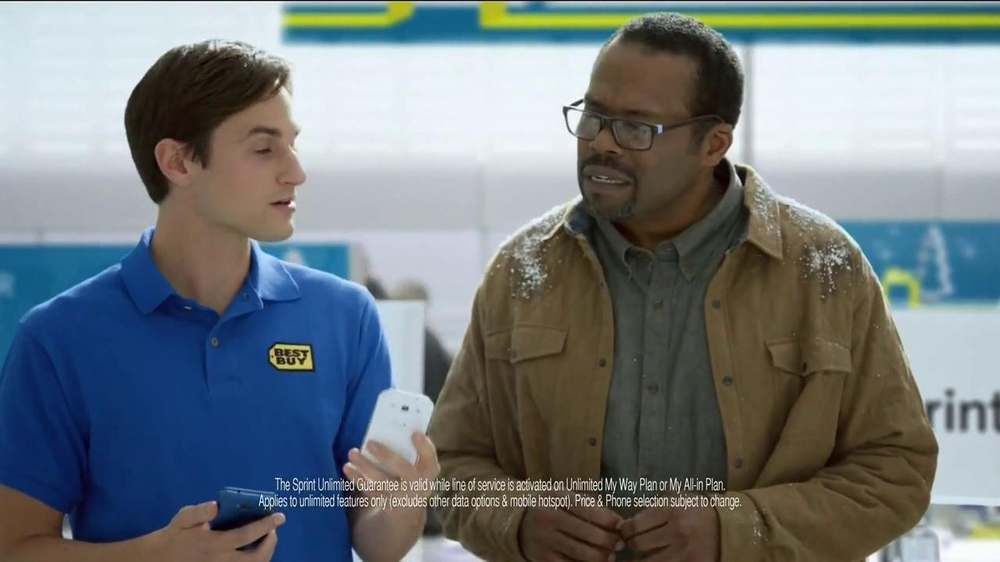 Best Buy Sprint TV Spot, 'Twas' Featuring LL Cool J - Screenshot 6
