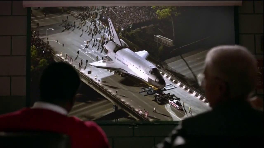 2014 Toyota Tundra TV Commercial, 'Space Shuttle Endeavour ...