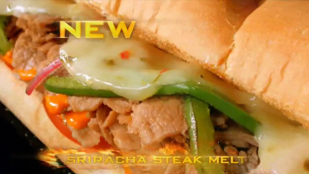 Subway Sriracha Chicken Melt TV Spot Feat. Michael Phelps, Pele - Screenshot 2