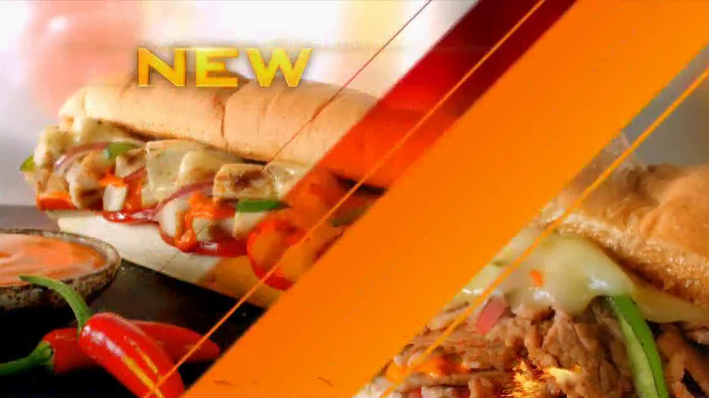 Subway Sriracha Chicken Melt TV Spot Feat. Michael Phelps, Pele - Screenshot 3