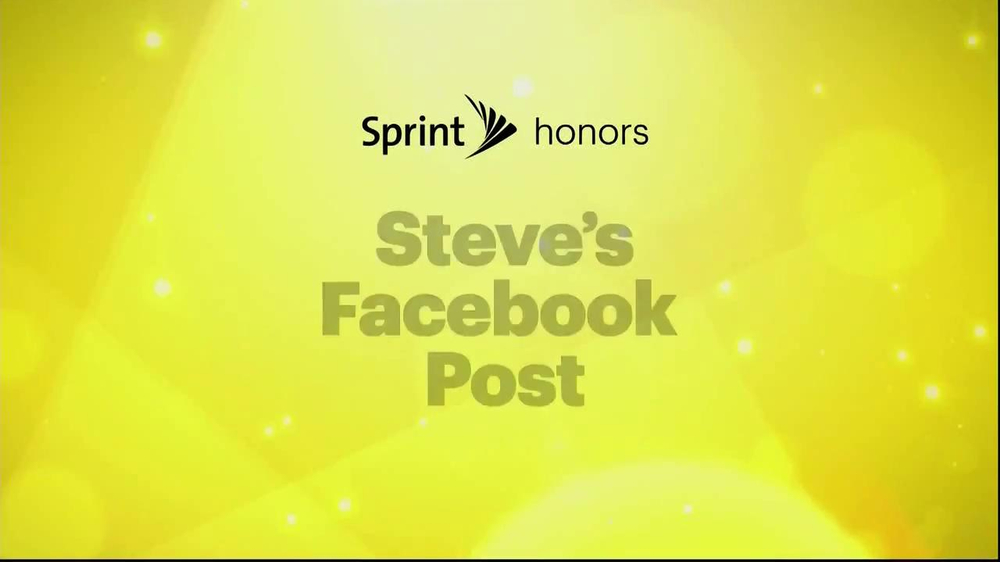 Sprint TV Spot, 'Steve's Facebook' Ft. James Earl Jones & Malcom McDowell - Screenshot 1