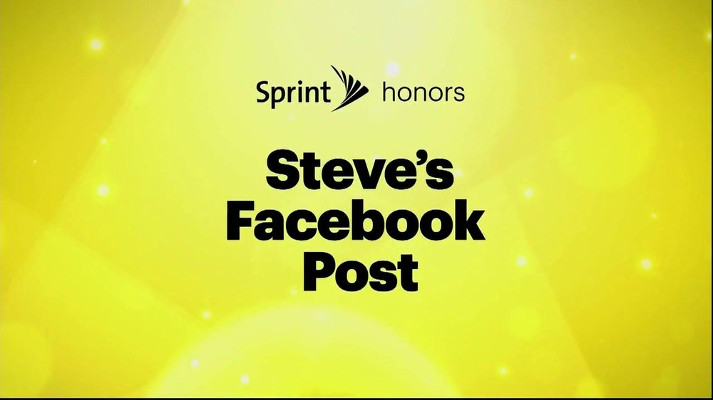 Sprint TV Spot, 'Steve's Facebook' Ft. James Earl Jones & Malcom McDowell - Screenshot 2