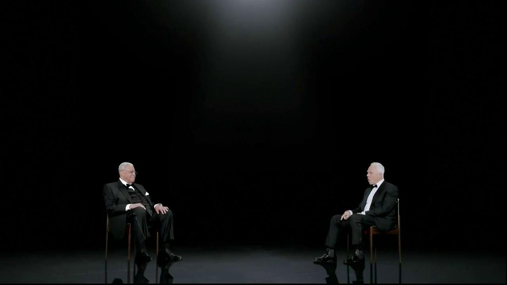 Sprint TV Spot, 'Steve's Facebook' Ft. James Earl Jones & Malcom McDowell - Screenshot 7