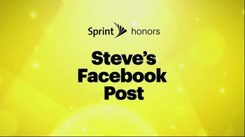 Sprint TV Spot, 'Steve's Facebook' Ft. James Earl Jones & Malcom McDowell - Thumbnail 2