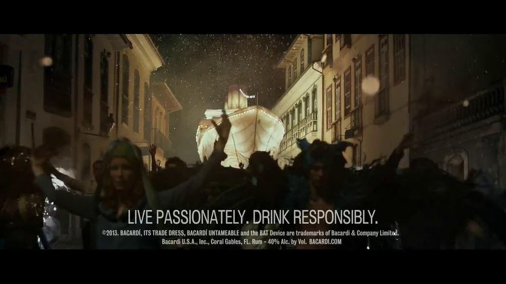 Bacardi Gold TV Spot, 'Untameable Since 1862' - Screenshot 8
