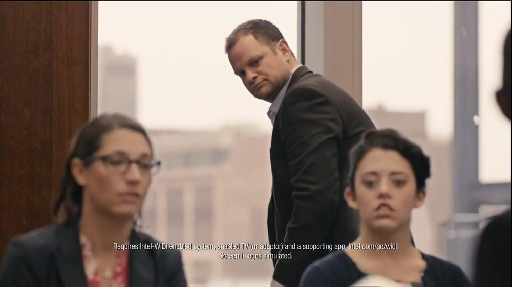 Intel 2-in-1 Laptop TV Spot, 'Meeting' - Screenshot 2
