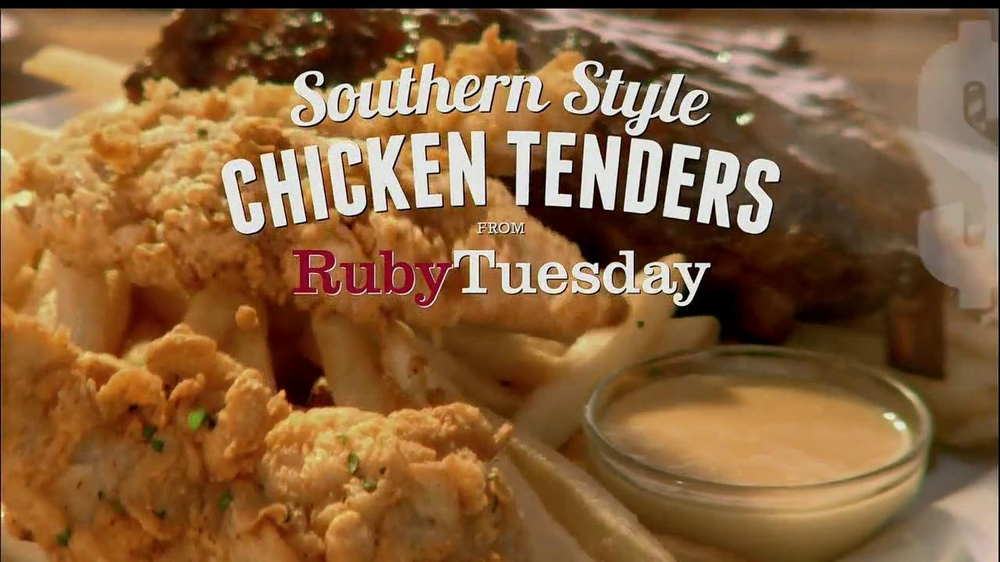 Ruby Tuesday Southern Style Chicken Tenders Tv Spot Gift