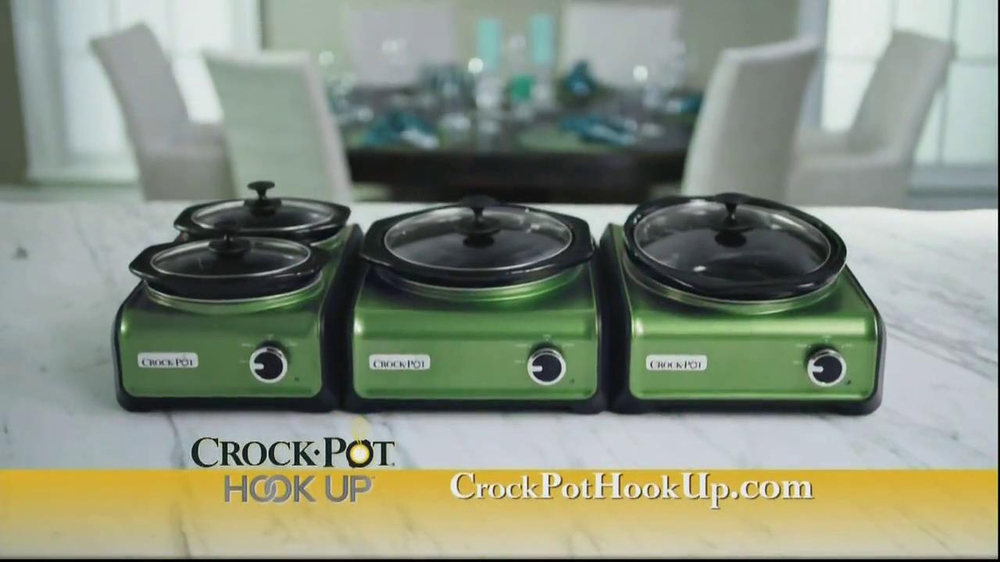 Crock-Pot Hook Up TV Spot - Screenshot 2