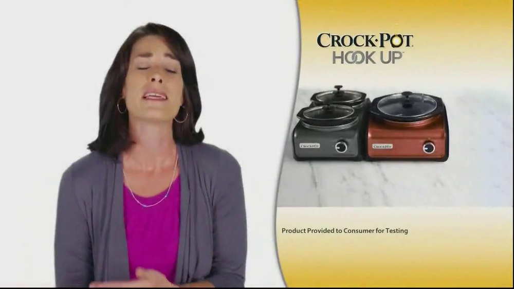 Crock-Pot Hook Up TV Spot - Screenshot 7