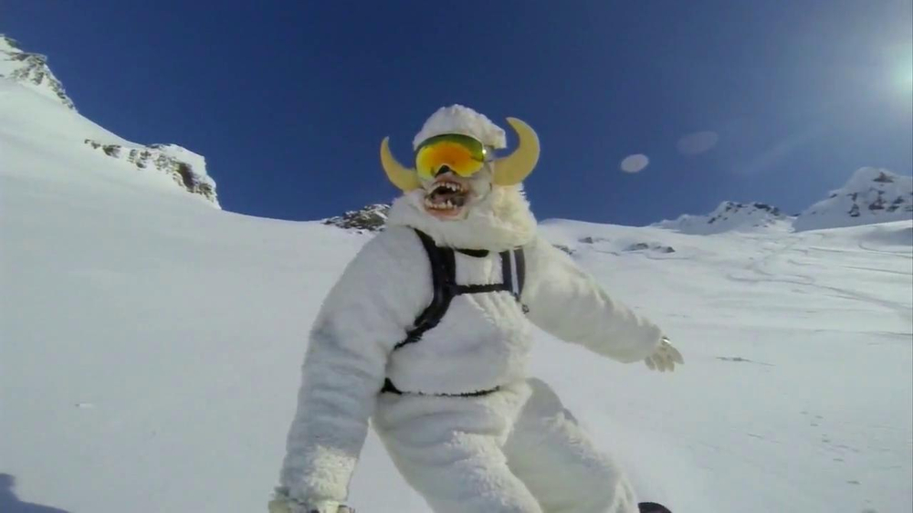 GoPro TV Spot, 'Yeti' Featuring Mike Basich - Screenshot 10