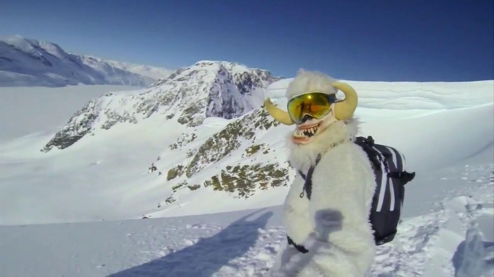 GoPro TV Spot, 'Yeti' Featuring Mike Basich - Screenshot 3