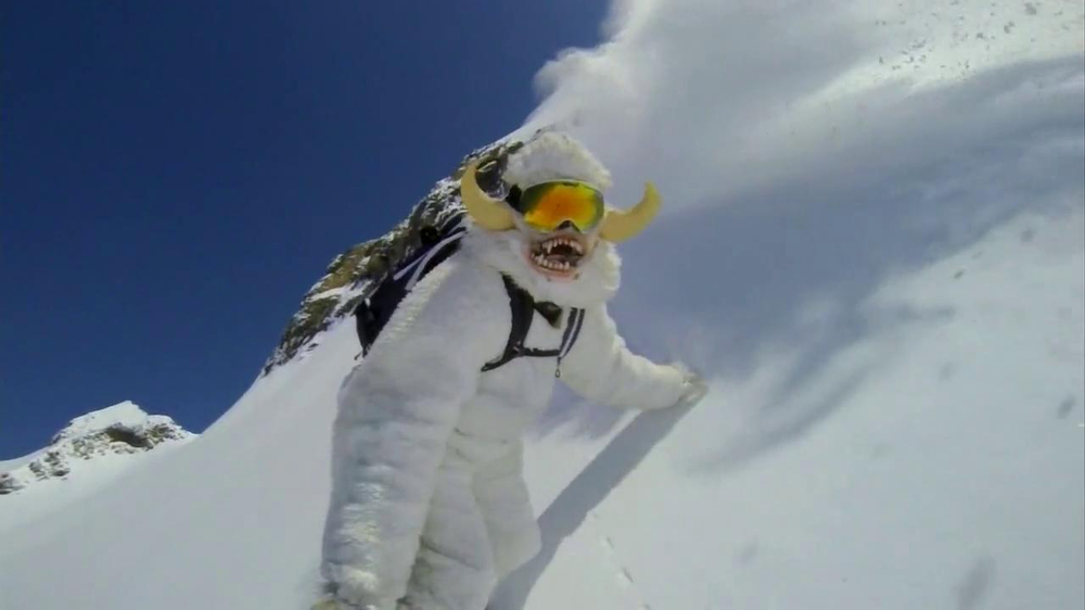 GoPro TV Spot, 'Yeti' Featuring Mike Basich - Screenshot 5