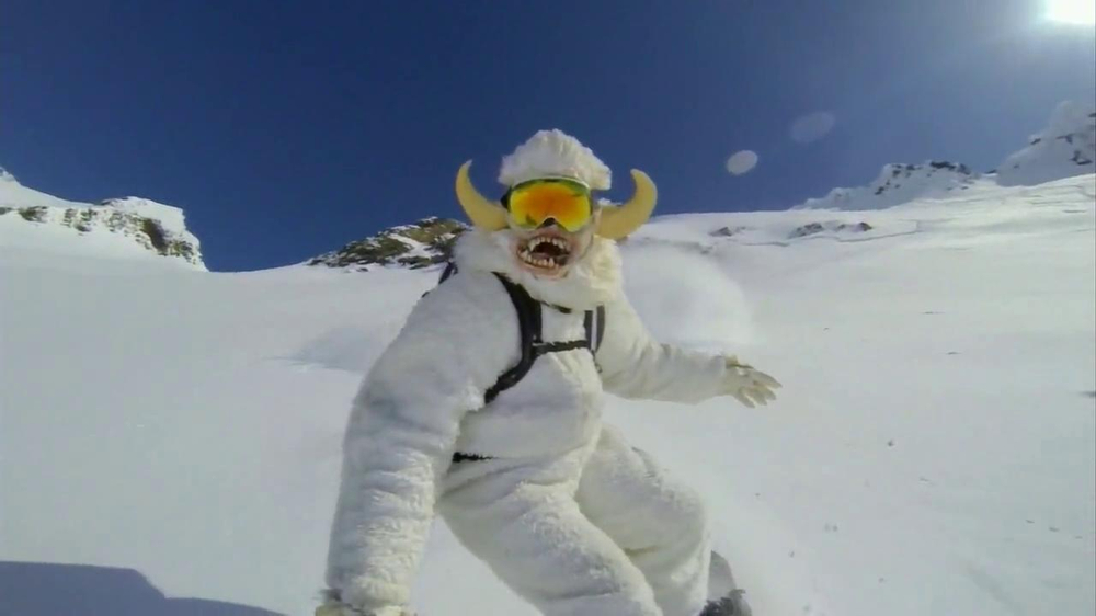 GoPro TV Spot, 'Yeti' Featuring Mike Basich - Screenshot 6