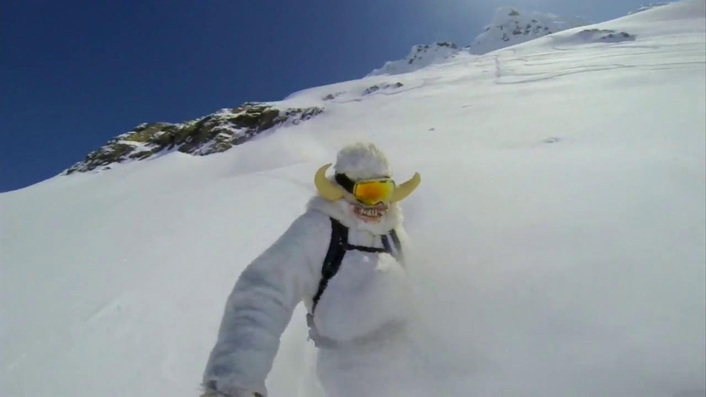 GoPro TV Spot, 'Yeti' Featuring Mike Basich - Screenshot 7
