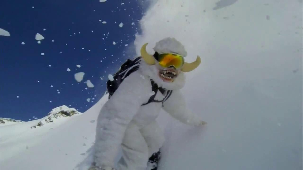 GoPro TV Spot, 'Yeti' Featuring Mike Basich - Screenshot 8