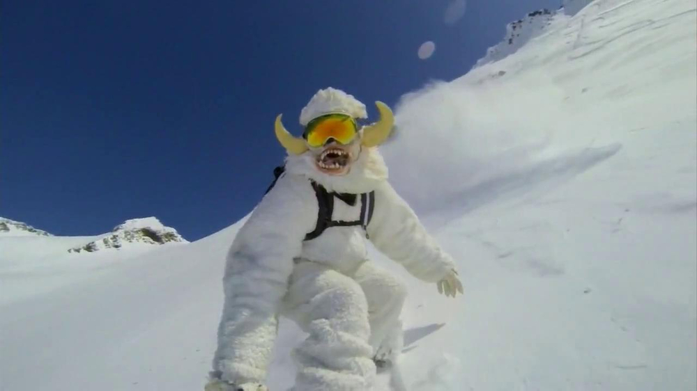GoPro TV Spot, 'Yeti' Featuring Mike Basich - Screenshot 9