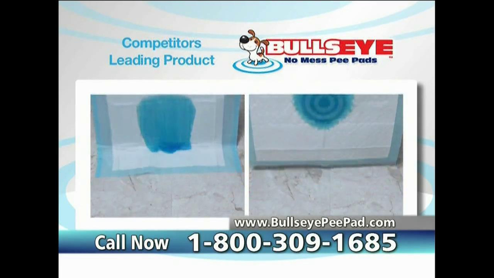 Bullseye Pee Pads TV Spot, 'No Mess' - Screenshot 6
