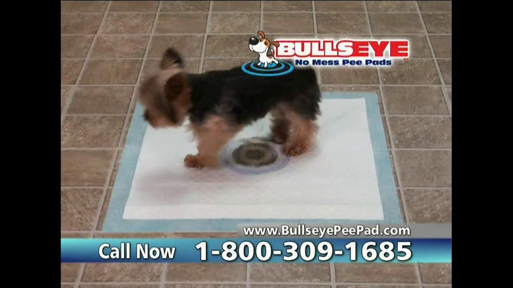 Bullseye Pee Pads TV Spot, 'No Mess' - Screenshot 8