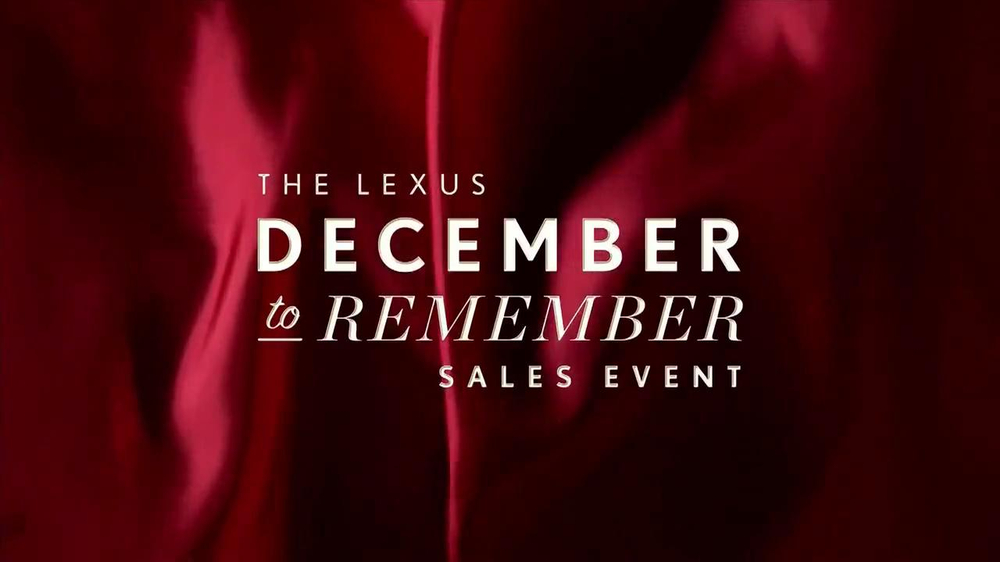 Lexus December to Remember TV Spot, 'Bow Precision' - Screenshot 1